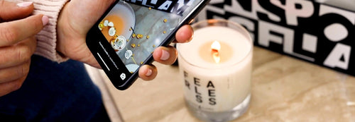 Spoken Flames candles augmented reality feature