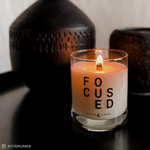 Spoken Flames' Focused Candle