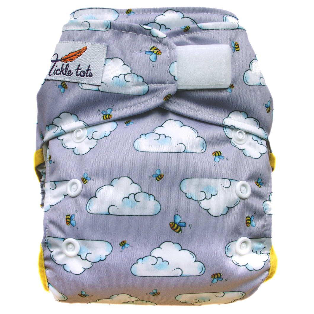 Tickle Tots AIO Nappy (One Size)