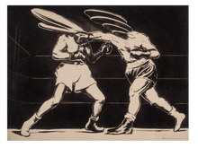 Load image into Gallery viewer, Boxing I (black&white)