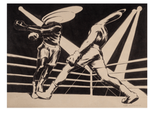 Load image into Gallery viewer, Boxing II (black&white)