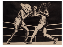 Load image into Gallery viewer, Boxing III (black&white)