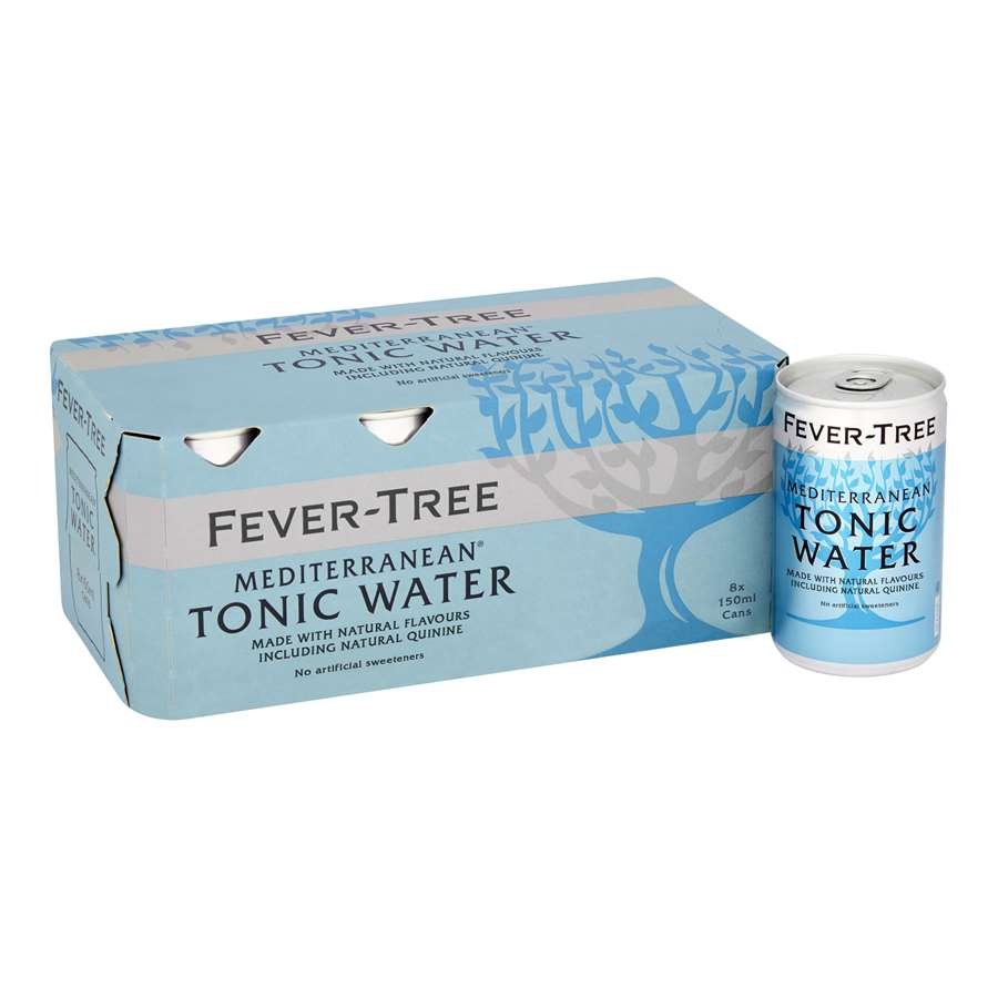 Fever-Tree Mediterranean Tonic Water 8 x 150 ml