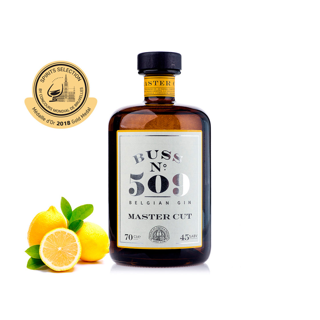 Buss No 509 Master Cut Gin, 700ml