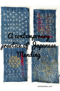 A contemporary practice of traditional Japanese mending