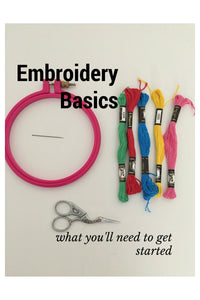 Weekend Craft: Learn How to Embroider