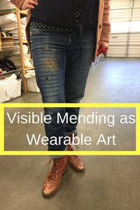 Visible Mending as Wearable Art