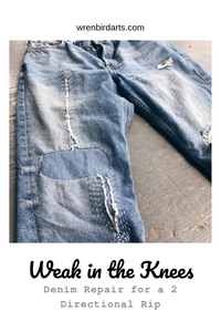 Visible Mending: Weak in the Knees