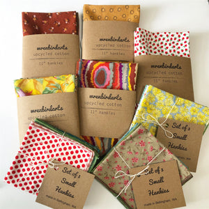 Embroidered & Patterned Hankies