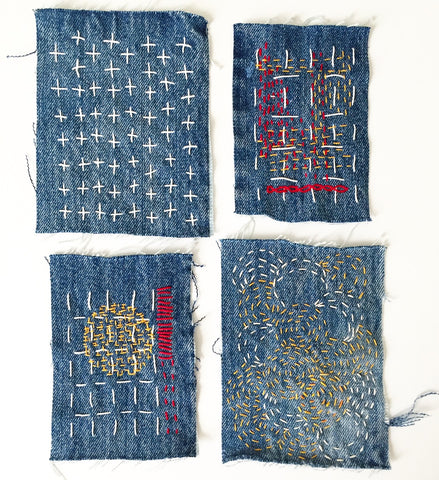 Sashiko Patches