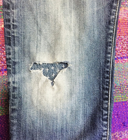 Denim patching