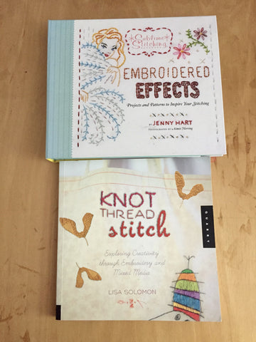 my favorite beginner embroidery books
