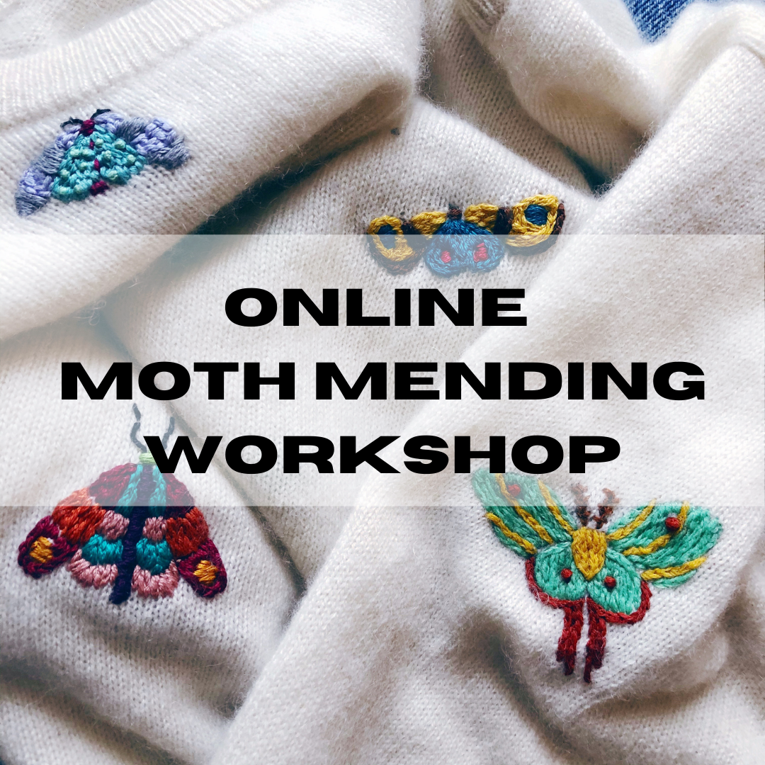 ONLINE Moth Mending Workshop