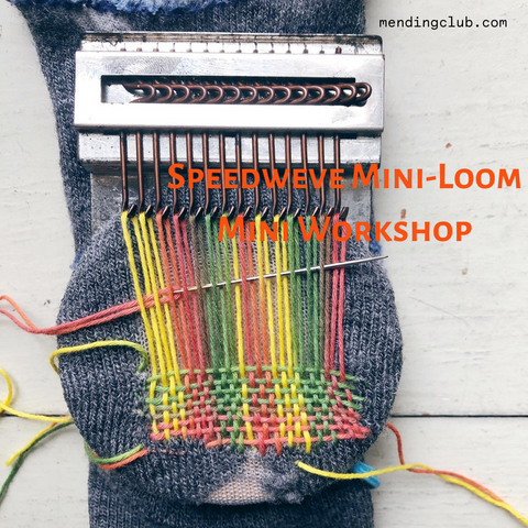 Mini Workshop: Speedweve or Mini Loom