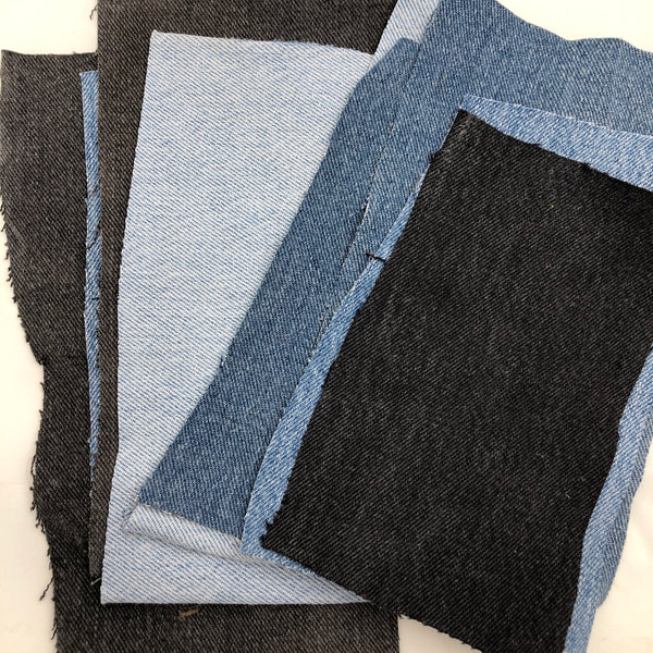 Cotton Denim Patches