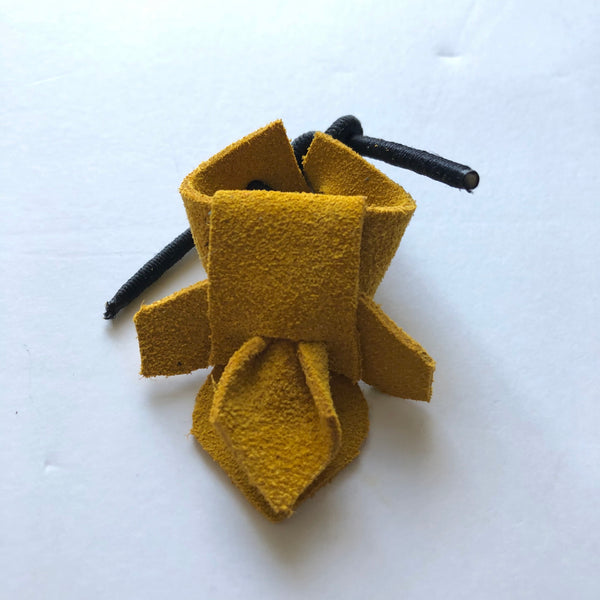 Leather Adjustable Flower Palm Thimble