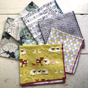 Mistakies Hankies that didn't make the cut