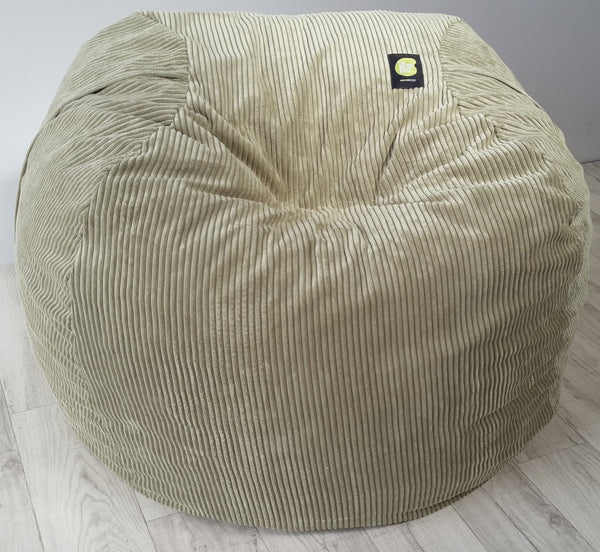 Corduroy Adult Size Olive Beanbag