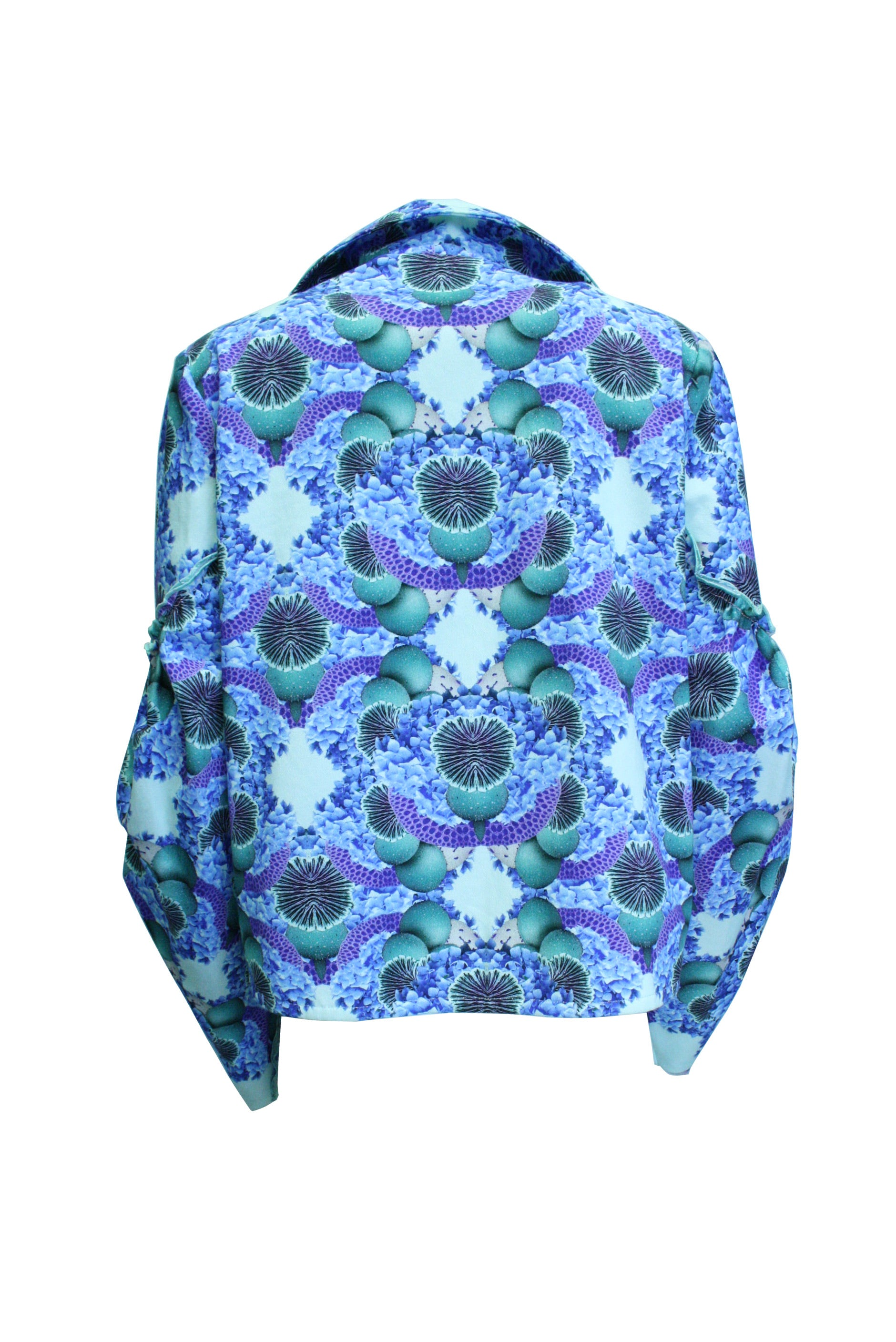 Shroom Printed Denim Jacket