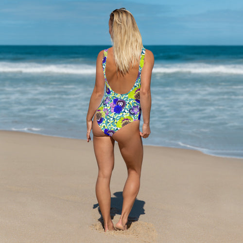 Crystal Camo One-Piece Swimsuit