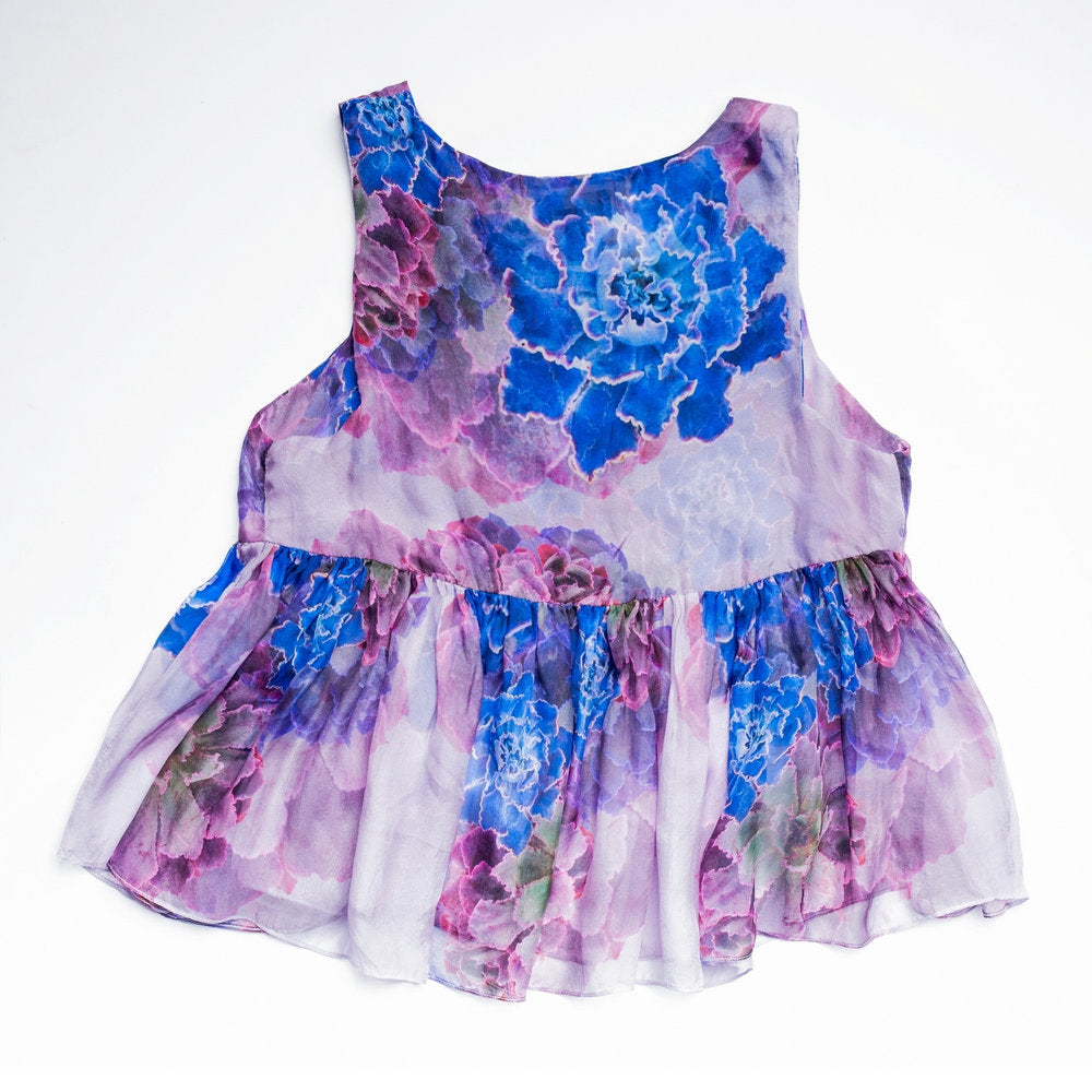 Pink/Lilac Echreveria Jellyfish Blouse