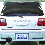 HKS SILENT HI-POWER EXHAUST SUBARU FORESTER 2.0/2.5 SF5/SG5/SG9