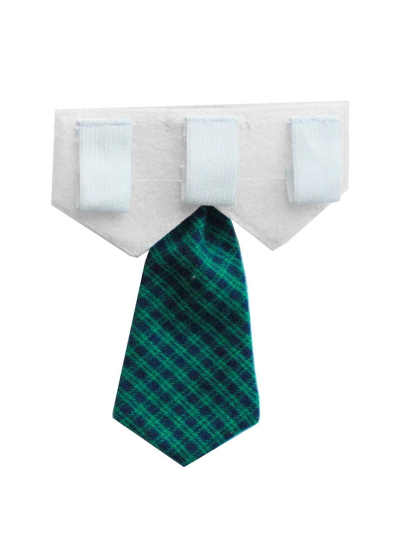 Sunday- Navy, Green Neck Tie