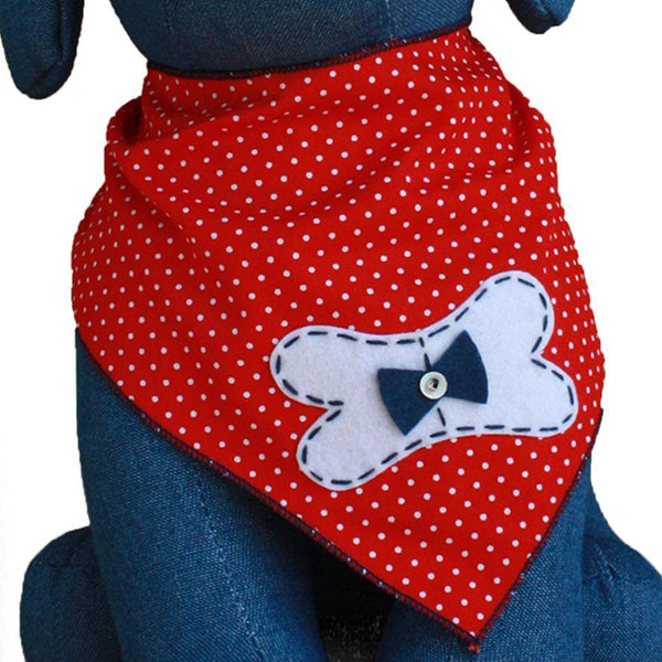 Dog Bone Bandana