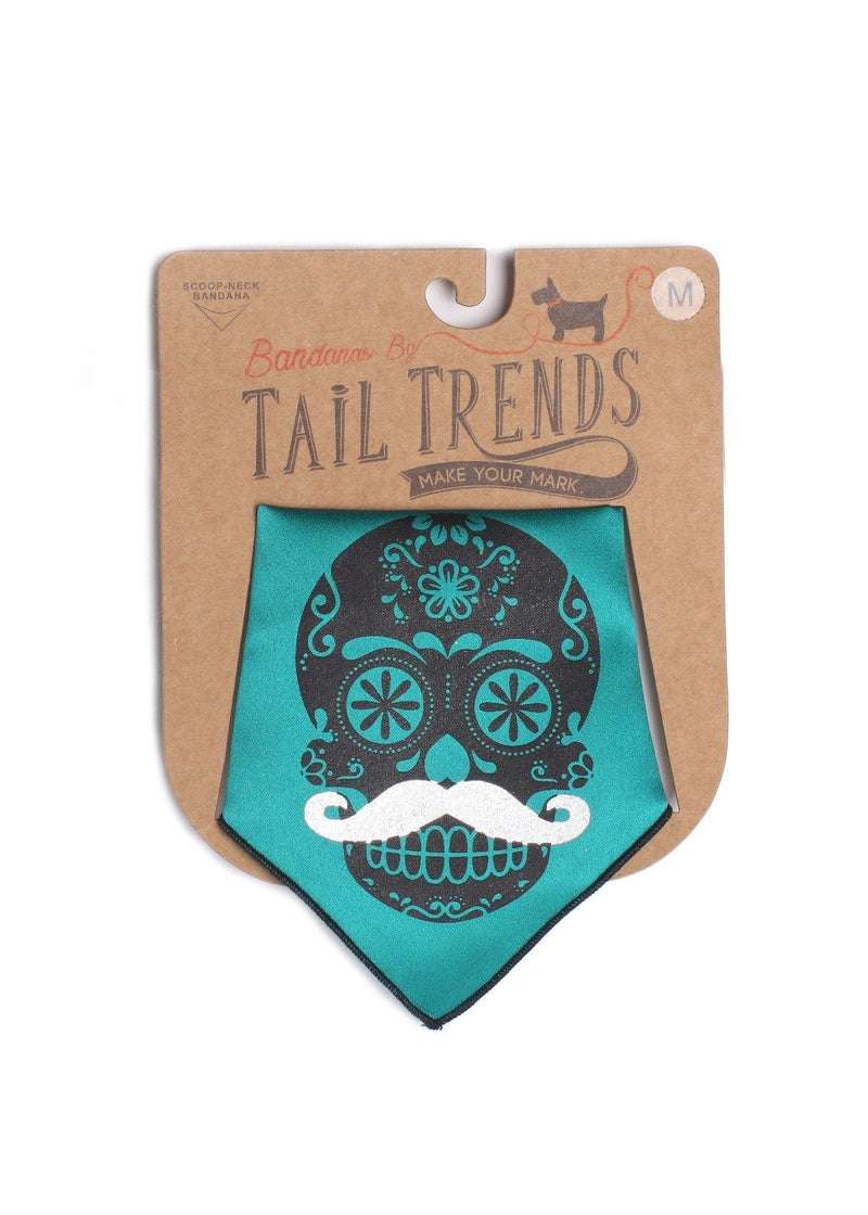 Day of Of the Dead Skull Teal