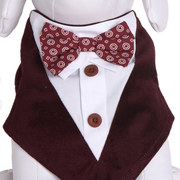 Cadillac Formal Bandana Bow Tie