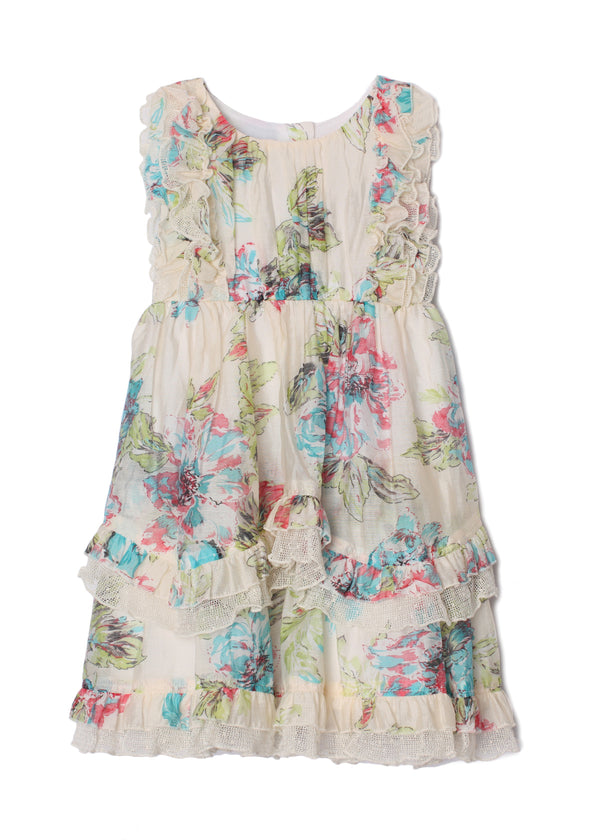 Fleurette Little Girl Big Girl Dress