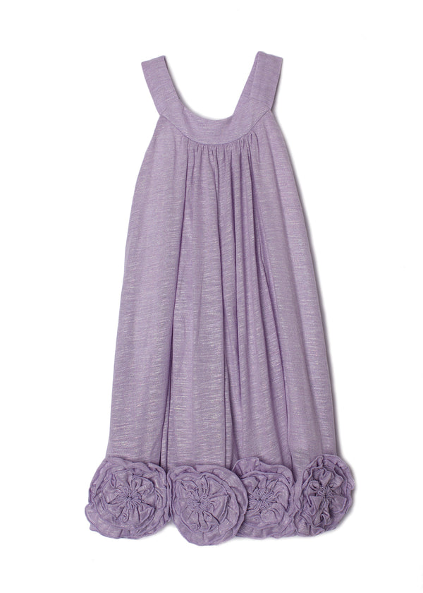 Flora Dance Dress in Purple