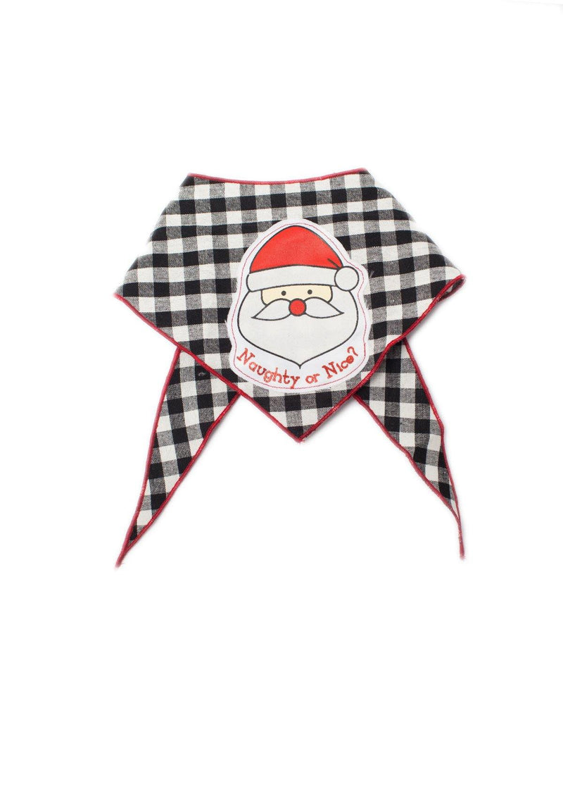 Santa Clause Naughty or Nice Bandana