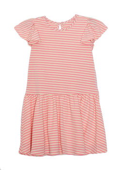 Pink Stripe Knit Dress