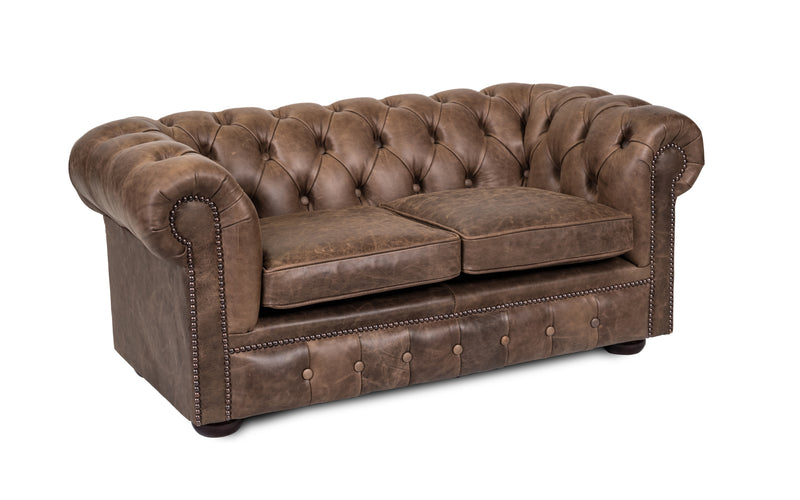 Kids Miss Muffet Vintage Leather Chest Sofa