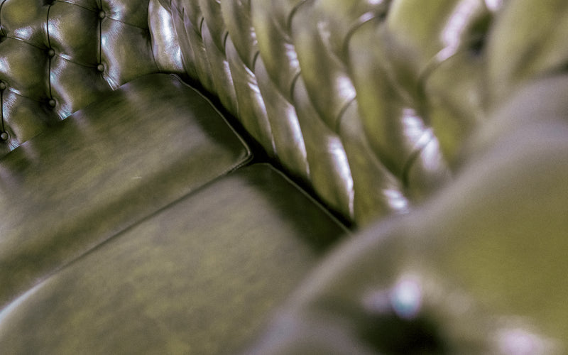 Sterling Antique Leather Chesterfield