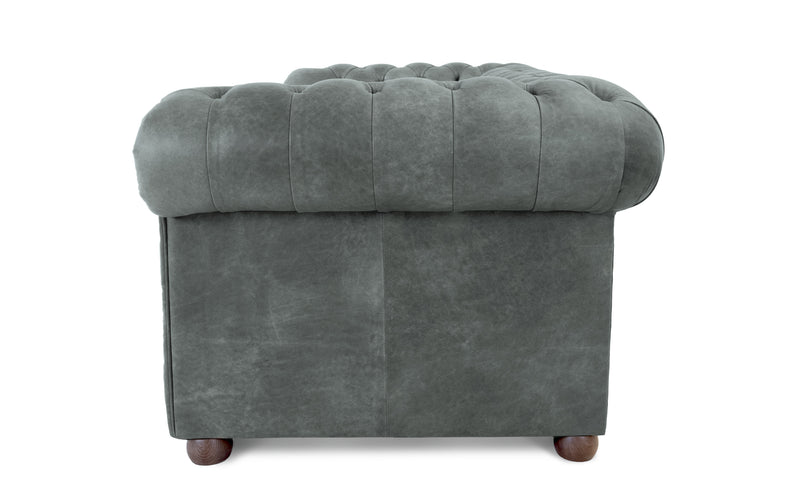 Flossie Vintage Leather Chesterfield