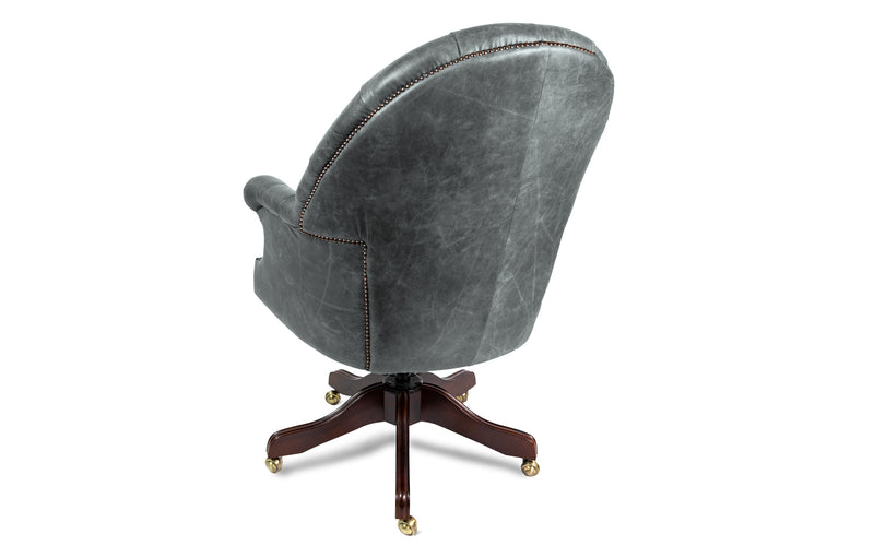 Rufus Vintage Leather Executive Desk Chair
