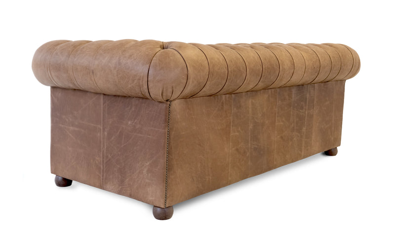 Archie Vintage Leather Chesterfield