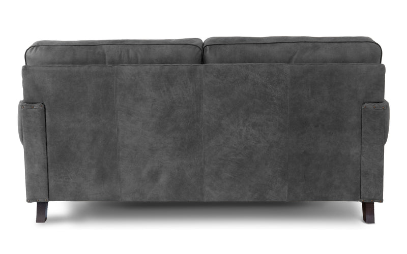 Birdie Rustic Leather Sofa