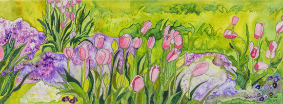 Butterstone Tulips 2 - Limited Edition Print
