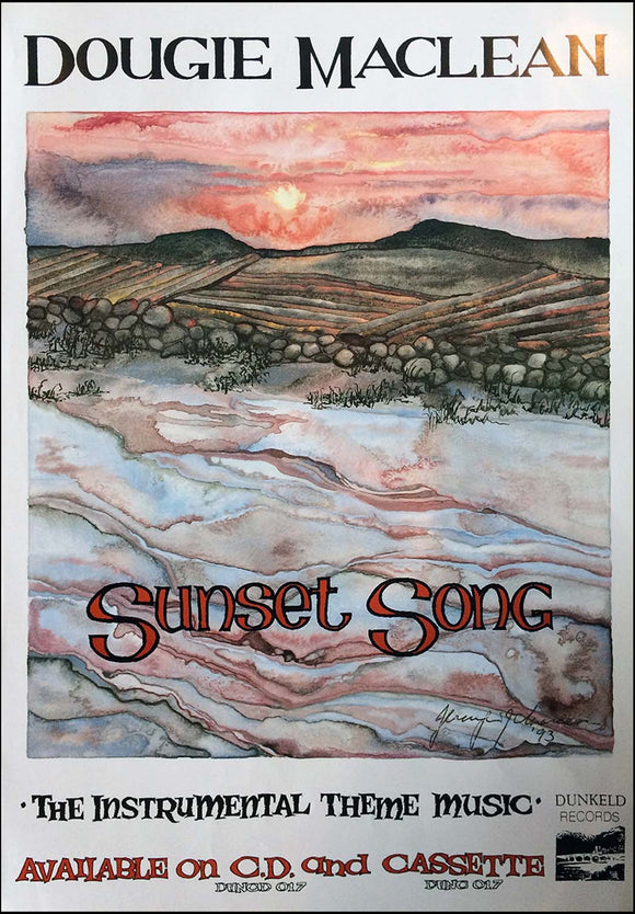 Sunset Song CD Poster