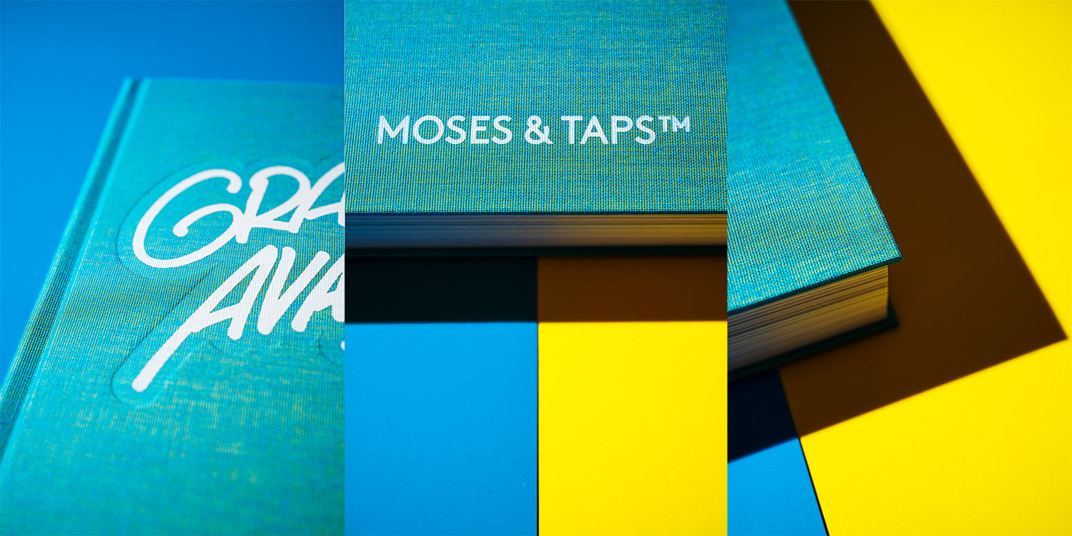 MOSES TAPS GRAFFITI AVANTGARDE BOOK DETAILS THE GRIFTERS
