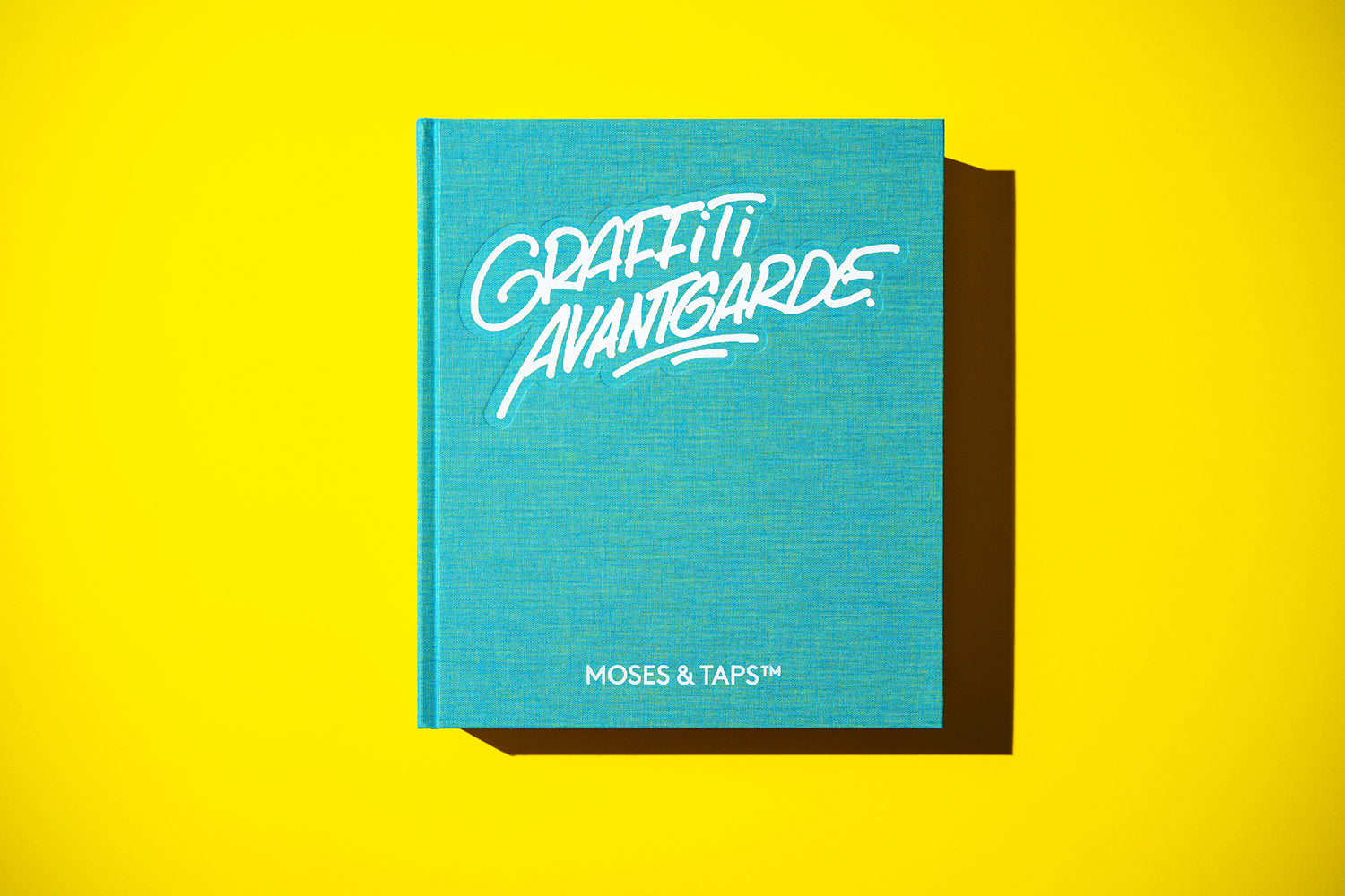 GRAFFITI AVANTGARDE BOOK BY MOSES AND TAPS REGULAR EDITION THE GRIFTERS PUBLISHING