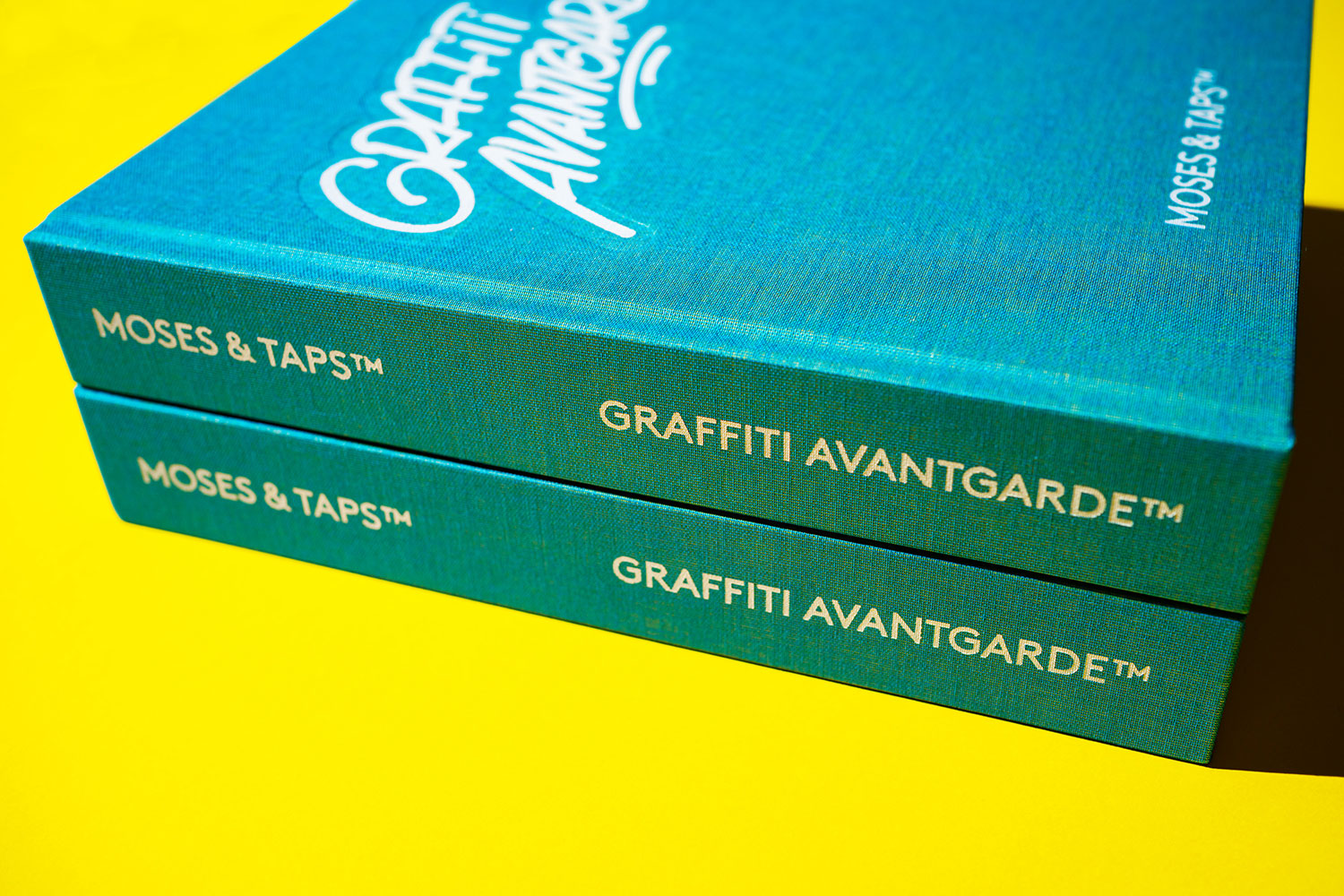 MOSES TAPS GRAFFITI AVANTGARDE BOOK THE GRIFTERS PUBLISHING