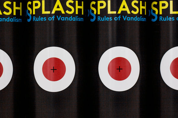 Moses & Taps - Splash -Rules Of Vandalism - Limited Edition spraycan - The Grifters