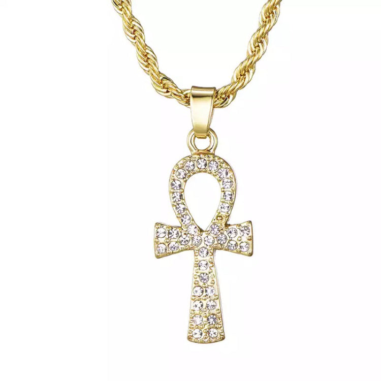 Iced Key Pendant