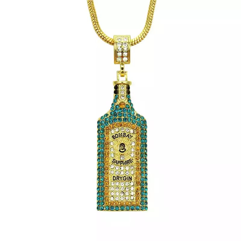Iced Bottle Pendant