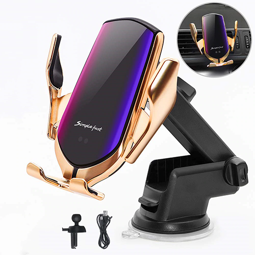 Wireless Qi Car Phone Stand & Charger