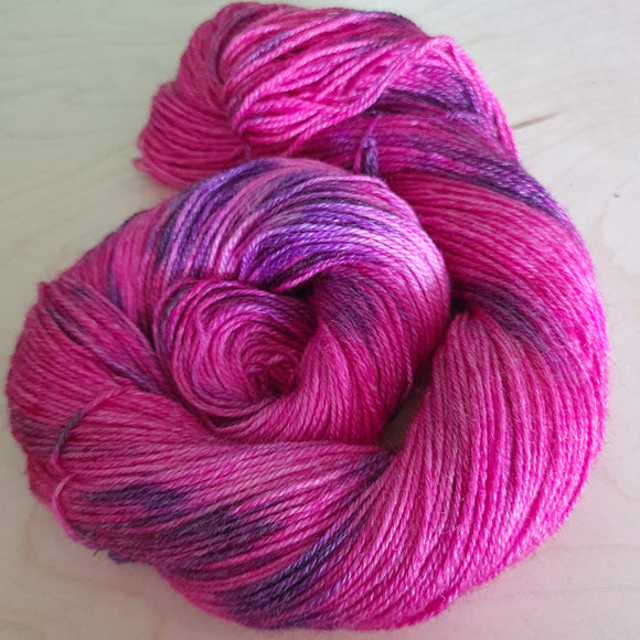 Sockenwolle mit Ramie - PINKY LILY